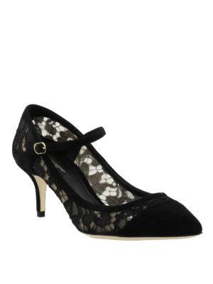 Dolce & Gabbana: court shoes online - Bellucci lace court shoes