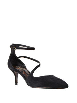 Dolce & Gabbana: court shoes online - Bellucci suede pumps