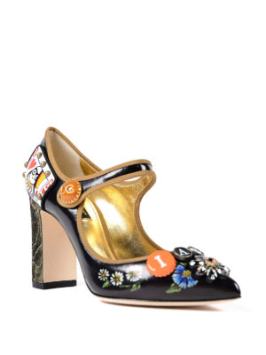 Dolce & Gabbana: court shoes online - Funny embellishment Mary Janes