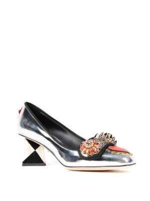 Dolce & Gabbana: court shoes online - Jackie embellished pumps