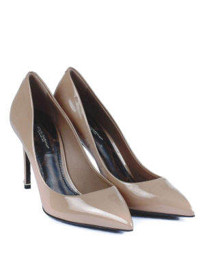 Dolce & Gabbana: court shoes online - Kate patent leather pumps