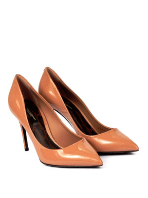 Dolce & Gabbana: court shoes online - Kate patent pumps with Leo sole