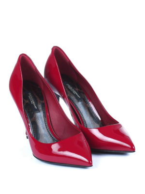 Dolce & Gabbana: court shoes online - Kate red patent pumps
