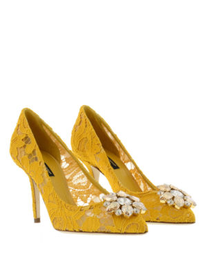 Dolce & Gabbana: court shoes online - Lace court shoes