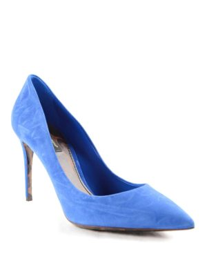 Dolce & Gabbana: court shoes online - Suede classical court shoes