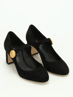 Dolce & Gabbana: court shoes online - Vally suede pumps