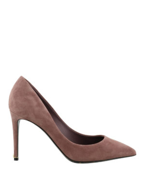 Dolce & Gabbana: court shoes - Romantic pink suede pumps