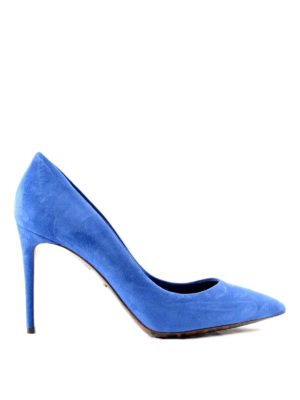 Dolce & Gabbana: court shoes - Suede classical court shoes
