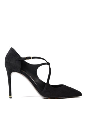 Dolce & Gabbana: court shoes - Suede half d'Orsay pumps