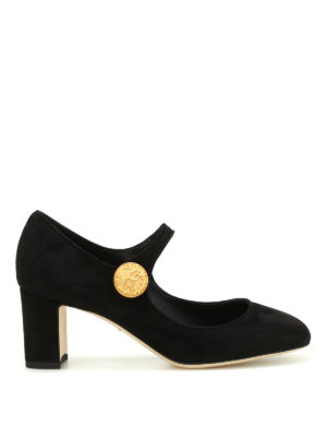 Dolce & Gabbana: court shoes - Vally suede pumps