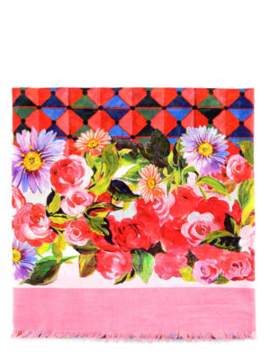 Dolce & Gabbana: cover-ups - Mambo print cotton pareo