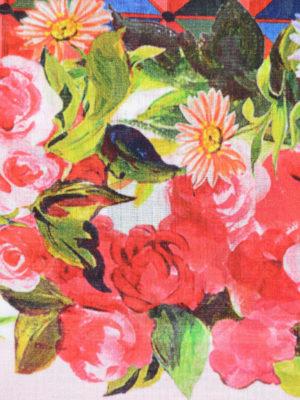 Dolce & Gabbana: cover-ups online - Mambo print cotton pareo