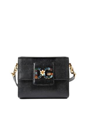 Dolce & Gabbana: cross body bags - DG Millennials jewel cross body bag