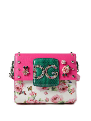 Dolce & Gabbana: cross body bags - DG Millennials S crossbody bag