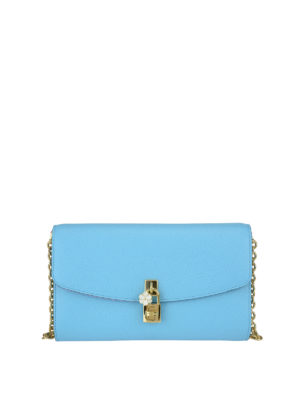 Dolce & Gabbana: cross body bags - Leather crossbody bag