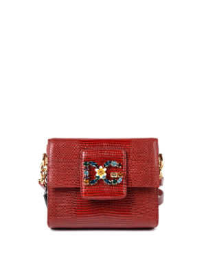Dolce & Gabbana: cross body bags - Leather Millennials bag