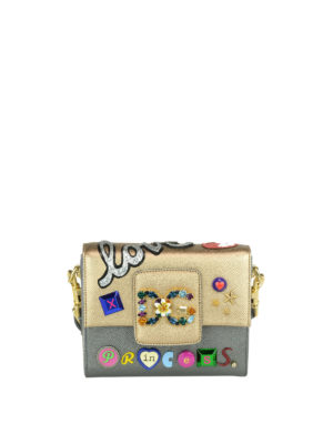 Dolce & Gabbana: cross body bags - Millennials mini adorned bag