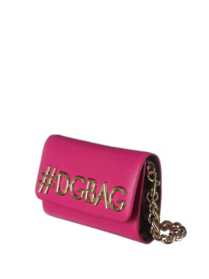 Dolce & Gabbana: cross body bags online - DG Girls dauphine leather bag