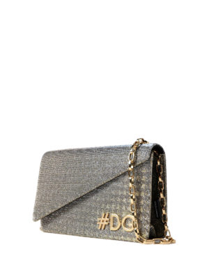 Dolce & Gabbana: cross body bags online - DG Girls lamé cross body bag