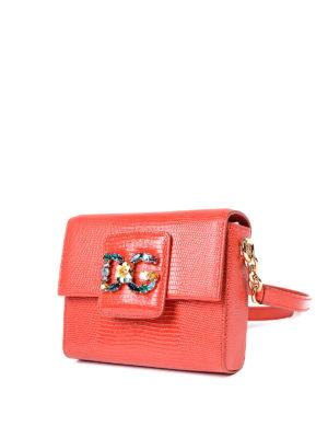Dolce & Gabbana: cross body bags online - DG Millennials jewel cross body bag