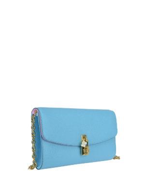 Dolce & Gabbana: cross body bags online - Leather crossbody bag