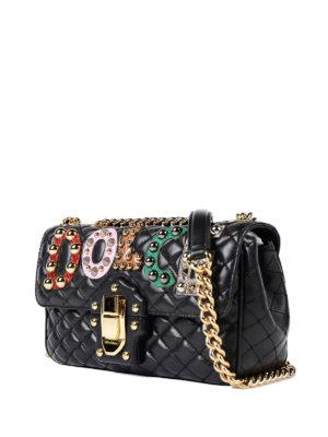 Dolce & Gabbana: cross body bags online - Lucia embellished cross body bag