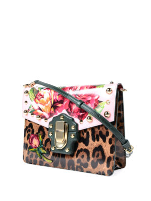Dolce & Gabbana: cross body bags online - Lucia printed and embellished bag
