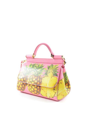 Dolce & Gabbana: cross body bags online - Medium Sicily pineapple crossbody