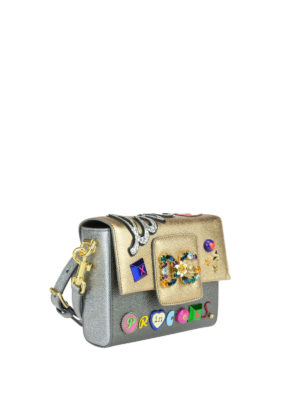 Dolce & Gabbana: cross body bags online - Millennials mini adorned bag