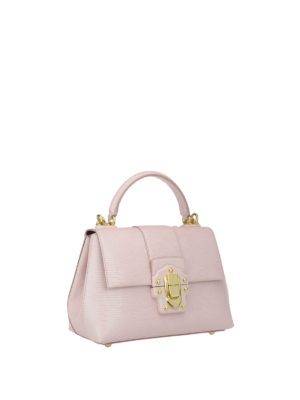 Dolce & Gabbana: cross body bags online - Small Lucia leather bag