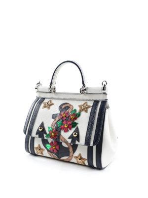 Dolce & Gabbana: cross body bags online - Small marine Sicily crossbody
