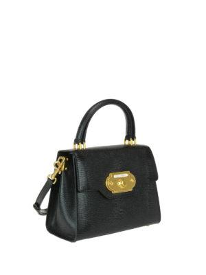 Dolce & Gabbana: cross body bags online - Welcome iguana print leather bag