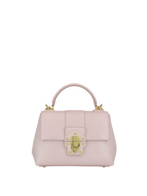 Dolce & Gabbana: cross body bags - Small Lucia leather bag