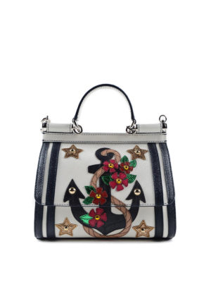 Dolce & Gabbana: cross body bags - Small marine Sicily crossbody