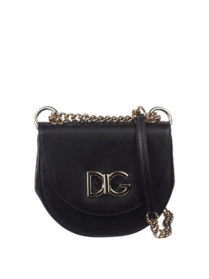 Dolce & Gabbana: cross body bags - Wifi leather small bag