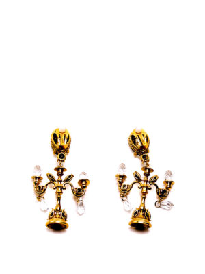 Dolce & Gabbana: Earrings online - Swarovski chandelier earrings