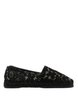 Dolce & Gabbana: espadrilles - Macramé espadrilles