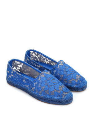 Dolce & Gabbana: espadrilles online - Macramé espadrilles