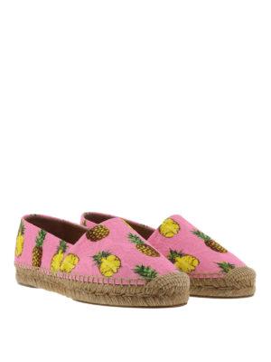 Dolce & Gabbana: espadrilles online - Pineapple brocade espadrilles