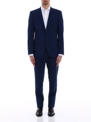 Dolce & Gabbana: formal suits online - Virgin wool tailored formal suit