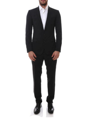 Dolce & Gabbana: formal suits online - Virgin wool two-piece suit