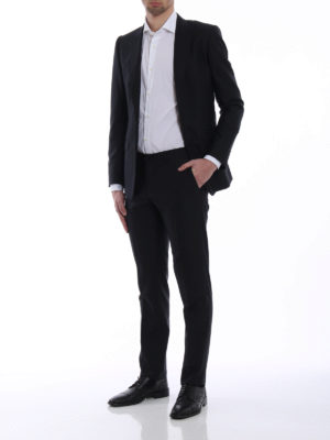 Dolce & Gabbana: formal suits online - Wool and silk tailored formal suit