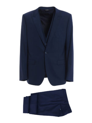 Dolce & Gabbana: formal suits - Stretch wool tailored formal suit