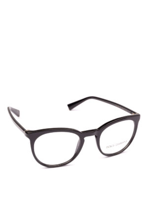 DOLCE & GABBANA: Occhiali - Occhiali da vista pantos neri