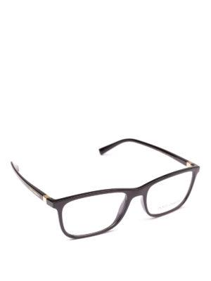 DOLCE & GABBANA: Occhiali - Occhiali da vista rettangolari acetato nero