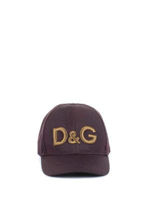 Dolce & Gabbana: hats & caps online - D&G embroidery baseball cap