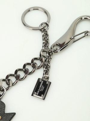 Dolce & Gabbana: key holders online - Prince leather key holder