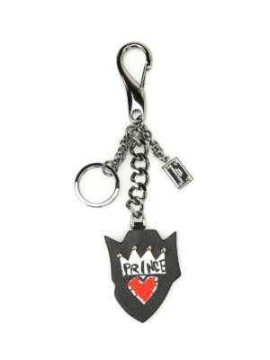 Dolce & Gabbana: key holders - Prince leather key holder