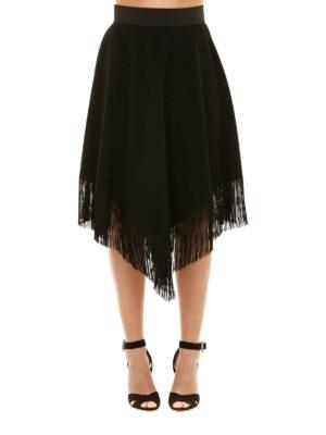 Dolce & Gabbana: Knee length skirts & Midi online - Fringed knee length skirt