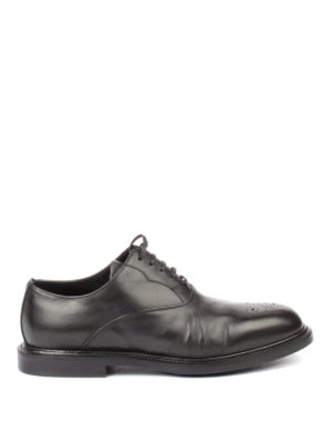 Dolce & Gabbana: lace-ups shoes - Brogue toe leather Oxford shoes
